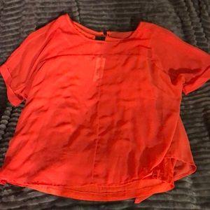 BNWT Worthingtons Tangerine Layered blouse